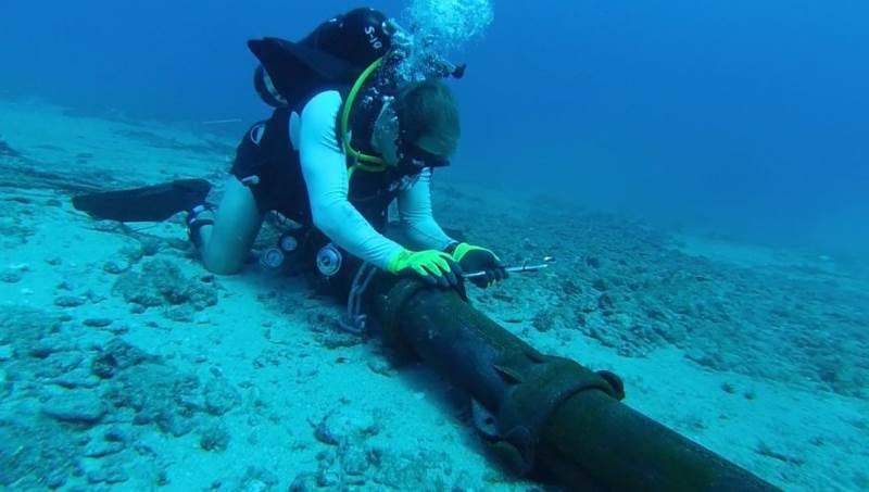 Прокладка кабеля под водой